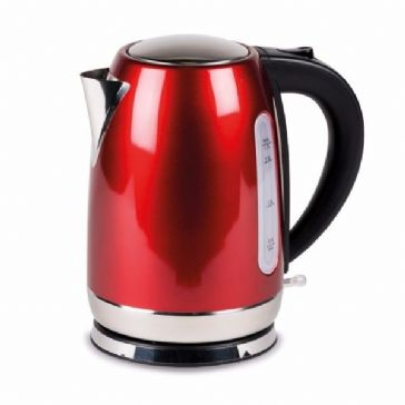 Kampa Dometic Tempest 1.7L Stainless Steel Electric Kettle - Red